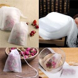 100 бумажных пакетиков для заваривания чая