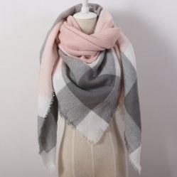 Кашемировый шарф, 20 вариантов расцветки