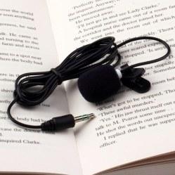 Портативный микрофон 3.5 мм  (30Hz~15000Hz)
